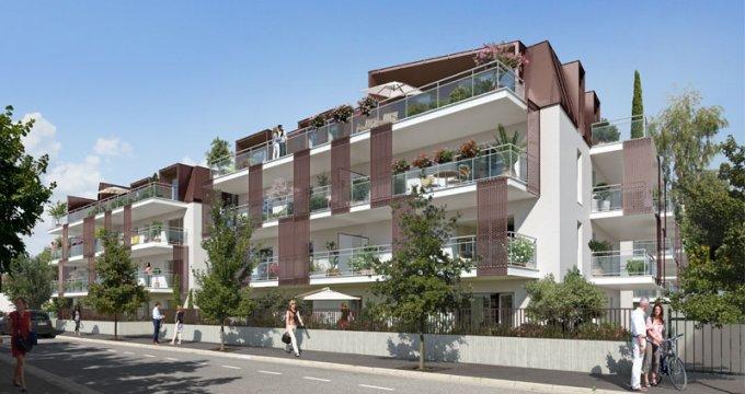 Achat / Vente appartement neuf Aix-les-bain à proximité du petit port de la ville balnéaire (73100) - Réf. 1126