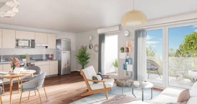 Achat / Vente appartement neuf Aix-les-Bains à 140 mètres du bus (73100) - Réf. 3715