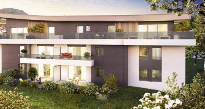 Achat / Vente appartement neuf Aix-les-bains au cœur du secteur Le Cluset (73100) - Réf. 4386