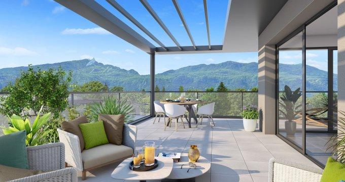 Achat / Vente appartement neuf Aix-les-Bains proche centre-ville (73100) - Réf. 2159