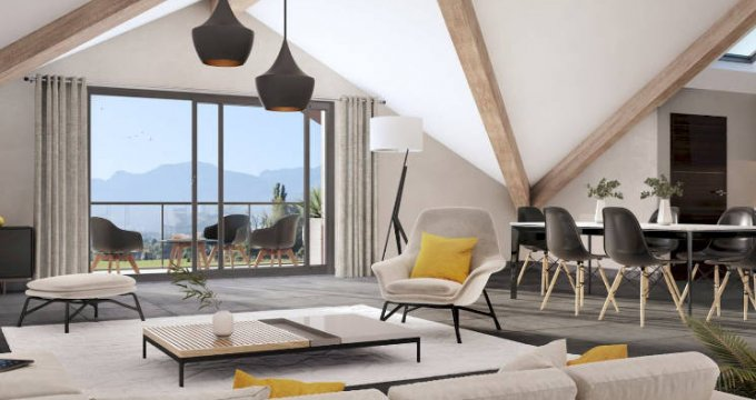 Achat / Vente appartement neuf Amancy en pleine nature-vue montagne (74800) - Réf. 4493