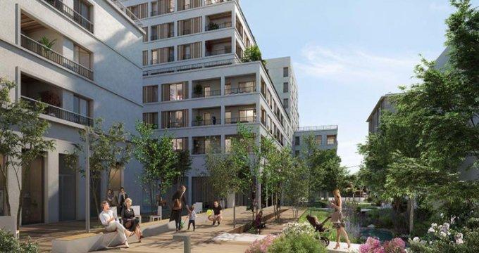 Achat / Vente appartement neuf Ambilly ecoquartier proche CEVA (74100) - Réf. 5340