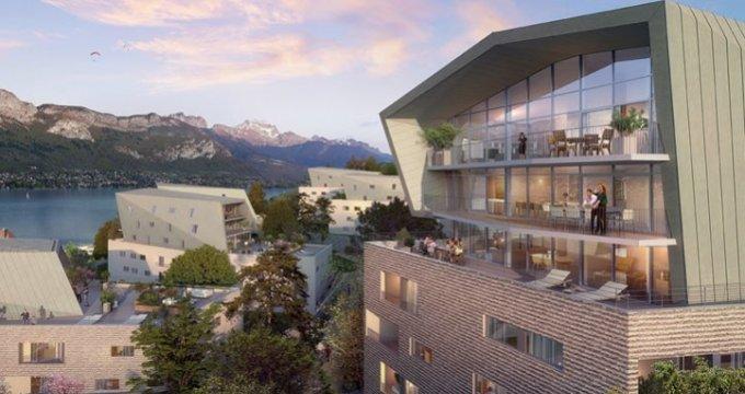 Achat / Vente appartement neuf Annecy face au lac (74000) - Réf. 909