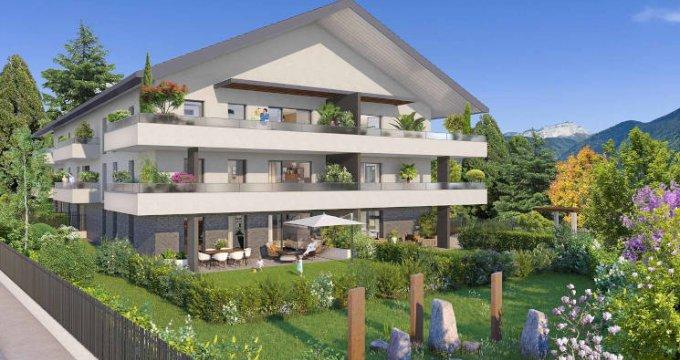 Achat / Vente appartement neuf Annecy-le-Vieux proche écoles et commodités (74940) - Réf. 3960