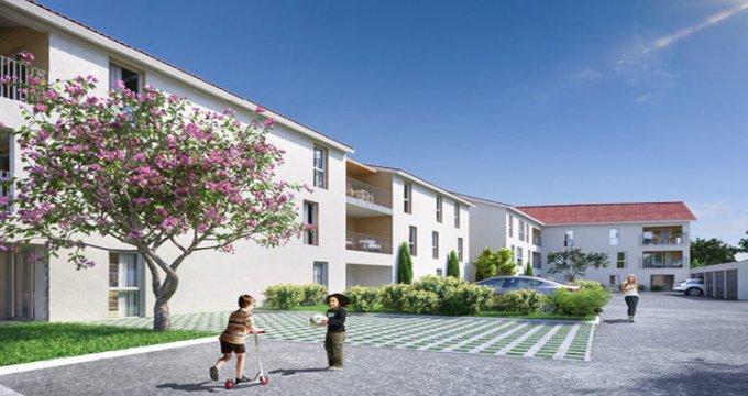 Achat / Vente appartement neuf Béligneux à 200m de la gare de la Valbonne (01360) - Réf. 5522