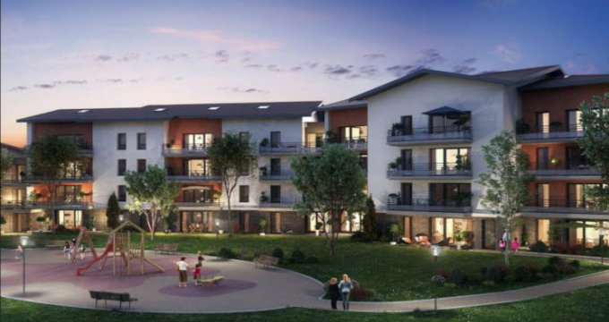 Achat / Vente appartement neuf Cessy proche de Genève (01170) - Réf. 2717