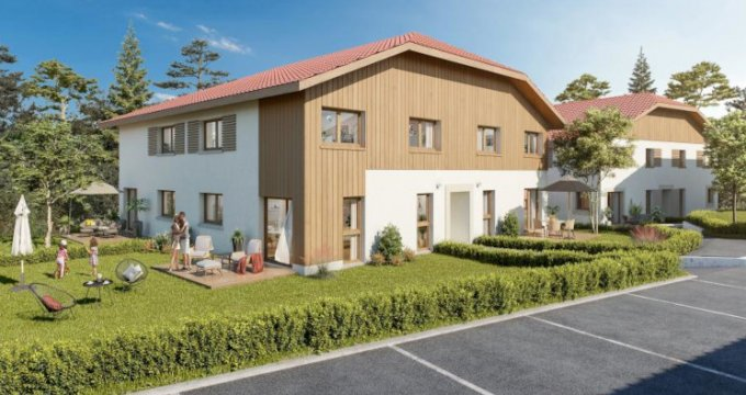 Achat / Vente appartement neuf Clefs à 7 minutes de Thônes (74230) - Réf. 5414