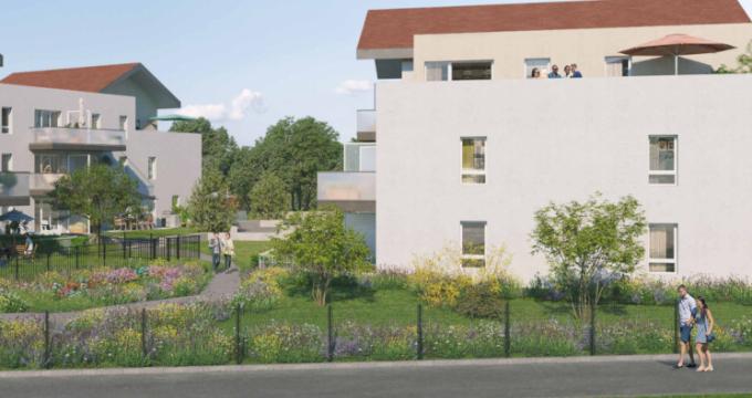 Achat / Vente appartement neuf Cluses proche commerces (74300) - Réf. 5091