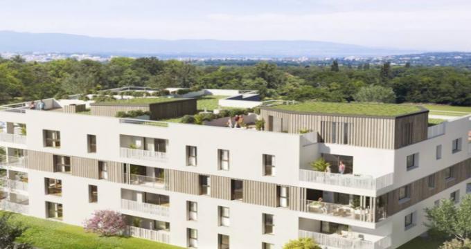 Achat / Vente appartement neuf Collonges-sous-Salève proche frontière Suisse (74160) - Réf. 4988