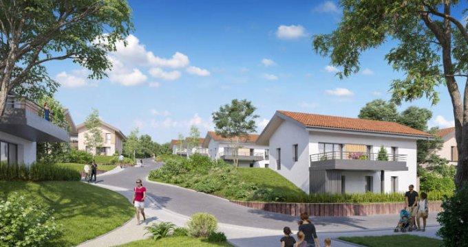 Achat / Vente appartement neuf Crozet à moins de 30min de Genève (01170) - Réf. 5832