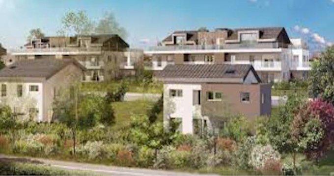 Achat / Vente appartement neuf Cruseilles proche centre-ville (74350) - Réf. 5021
