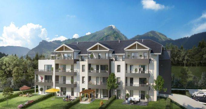 Achat / Vente appartement neuf Divonne-les-Bains proche centre-ville (01220) - Réf. 3575