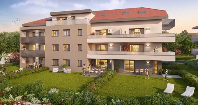 Achat / Vente appartement neuf Eteaux proche de la Roche sur Foron (74800) - Réf. 2280