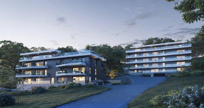Achat / Vente appartement neuf Evian-les-Bains proche du lac Léman (74500) - Réf. 5455
