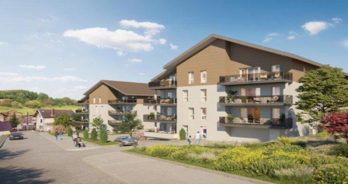 Achat / Vente appartement neuf Frangy à mi-chemin entre Annecy et Genève (74270) - Réf. 5441
