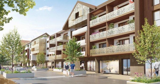 Achat / Vente appartement neuf La Balme-de-Sillingy centre-bourg (74330) - Réf. 5906