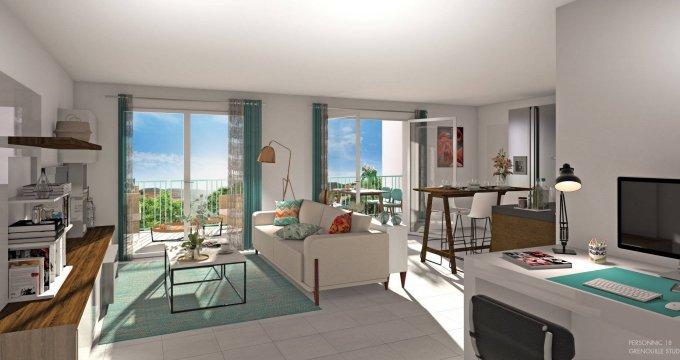 Achat / Vente appartement neuf La Motte-Servolex au coeur du quartier Les Champagnes (73290) - Réf. 6061