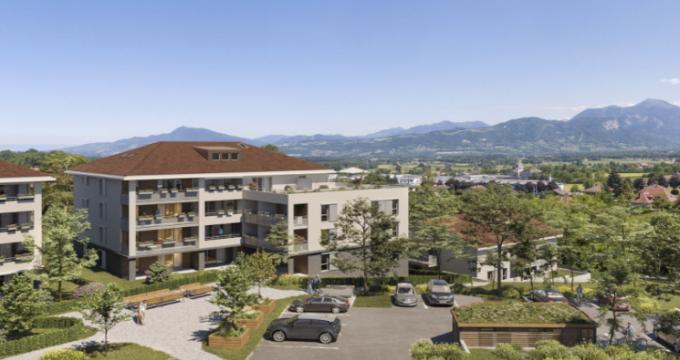 Achat / Vente appartement neuf La Roche-sur-Foron au cœur des montagnes de Haute-Savoie (74800) - Réf. 5388