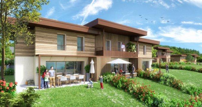 Achat / Vente appartement neuf Lucinges proche d'Annemasse (74380) - Réf. 2762