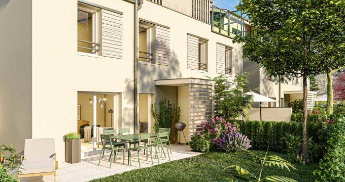 Achat / Vente appartement neuf Marnaz entre le centre-bourg et les rives de l'Arve (74460) - Réf. 6163