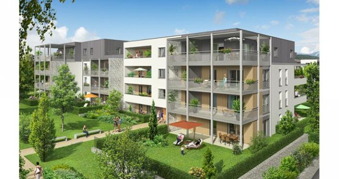 Achat / Vente appartement neuf Metz-Tessy au nord-ouest Annecy (74370) - Réf. 3954
