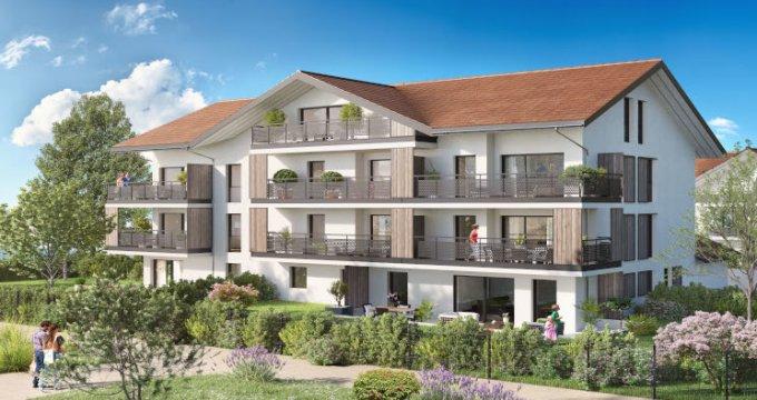 Achat / Vente appartement neuf Metz-Tessy proche Grand Epagny (74330) - Réf. 5471