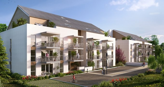 Achat / Vente appartement neuf Rumilly proche gare TER (74150) - Réf. 897
