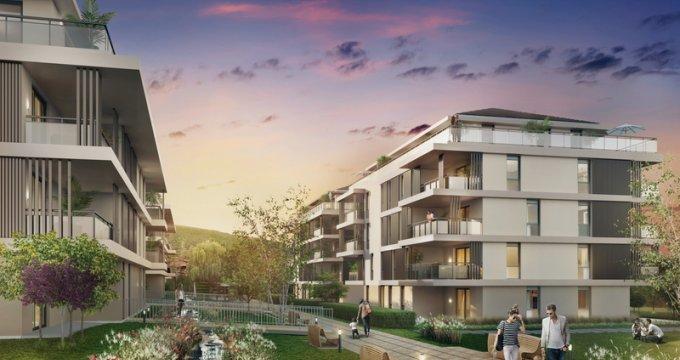 Achat / Vente appartement neuf Saint-Jorioz à 15 minutes d'Annecy (74410) - Réf. 4522