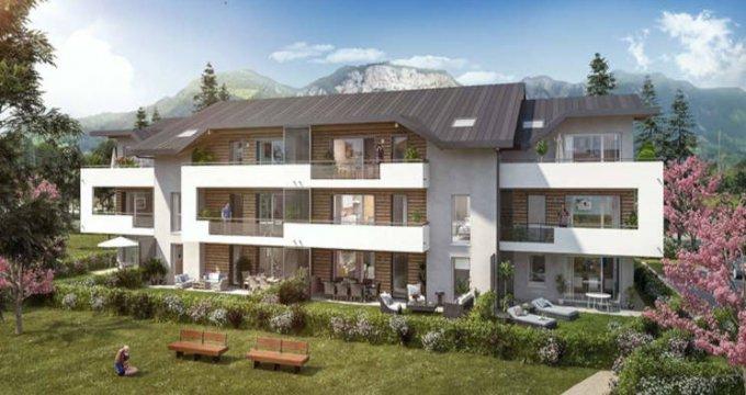 Achat / Vente appartement neuf Saint-Pierre-en-Faucigny proche complexe sportif (74800) - Réf. 3167