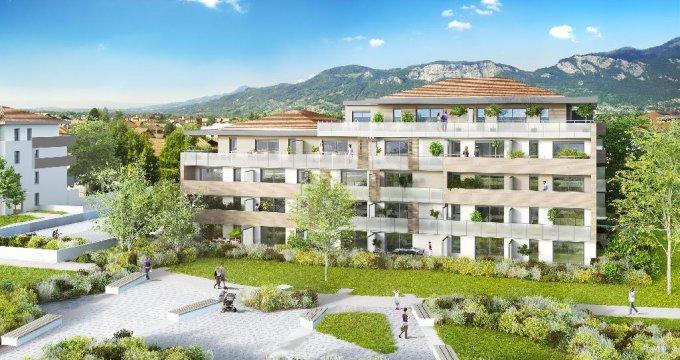 Achat / Vente appartement neuf Saint-Pierre-en-Faucigny proche gare SNCF (74800) - Réf. 3655