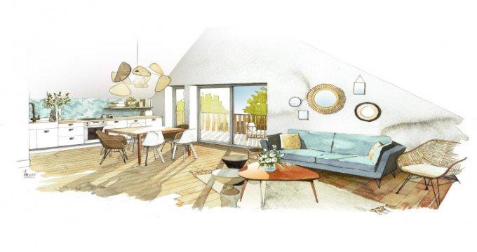 Achat / Vente appartement neuf Sales en plein centre du village (74150) - Réf. 5247