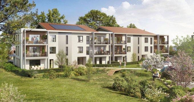 Achat / Vente appartement neuf Segny proche frontières suisses (01170) - Réf. 6167