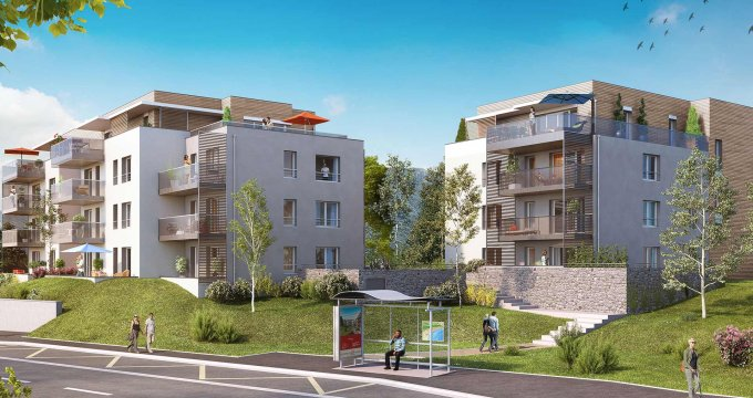 Achat / Vente appartement neuf Sévrier proche Annecy (74320) - Réf. 2197
