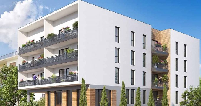 Achat / Vente appartement neuf Thonon-les-Bains à 10 minutes du centre-ville (74200) - Réf. 4119