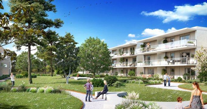 Achat / Vente appartement neuf Thonon-les-Bains quartier résidentiel à 2 minutes du centre (74200) - Réf. 404