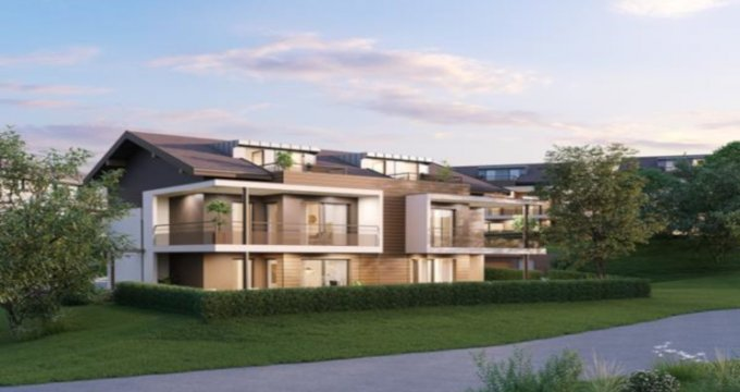 Achat / Vente appartement neuf Villy-le-Pelloux proche Annecy (74350) - Réf. 3955