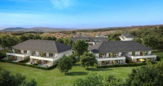 Achat / Vente appartement neuf Viuz-la-Chiésaz à 400 m du coeur de village (74540) - Réf. 5634