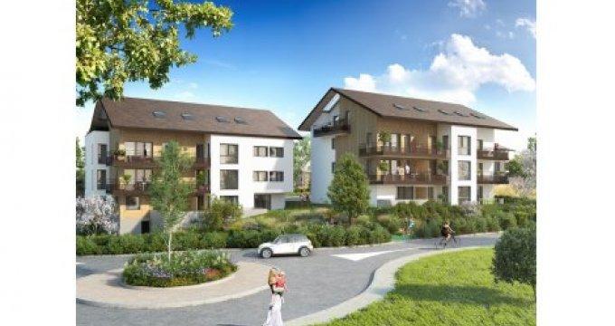 Achat / Vente appartement neuf Vulbens aux portes de la Suisse (74520) - Réf. 3520