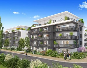 Achat / Vente appartement neuf Aix-les-Bains à 5 minutes de la rue de Genève (73100) - Réf. 3651