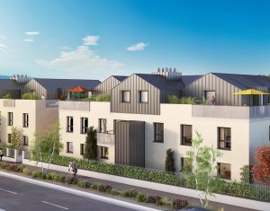 Achat / Vente appartement neuf Aix-les-Bains secteur Saint Simond (73100) - Réf. 2609