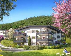Achat / Vente appartement neuf Aix-les-Bains, un écrin de verdure proche du lac (73100) - Réf. 1934