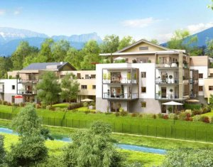 Achat / Vente appartement neuf Annecy-le-Vieux face à la forêt (74940) - Réf. 1063