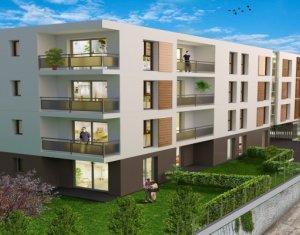 Achat / Vente appartement neuf Annemasse proche accès autoroute (74100) - Réf. 5532