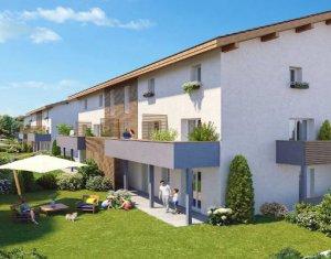 Achat / Vente appartement neuf Anthy-sur-Léman à 500 mètres du lac (74200) - Réf. 4983
