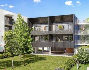 Achat / Vente appartement neuf Challes-les-Eaux à 10 min du centre écrin de verdure (73190) - Réf. 5142