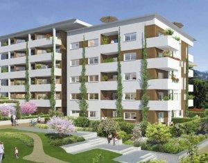 Achat / Vente appartement neuf Chambéry proche parc d'activité Côtes-Rousse (73000) - Réf. 1074