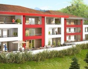 Achat / Vente appartement neuf Contamine-sur-Arve ambiance nature proche du CHAL et des grands axes (74130) - Réf. 1113