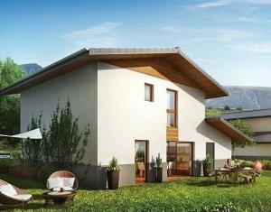 Achat / Vente appartement neuf Domancy villas mitoyennes au cœur du village (74700) - Réf. 1493