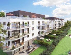 Achat / Vente appartement neuf Evian-les-Bains bord du lac Léman (74500) - Réf. 1879
