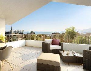 Achat / Vente appartement neuf Excenevex à proximité du lac Léman (74140) - Réf. 1101